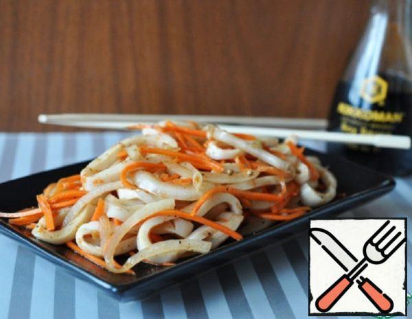 Appetizer of marinated Squid Recipe