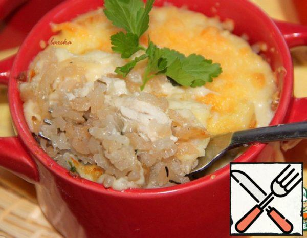 Gratin of Poultry Meat Recipe