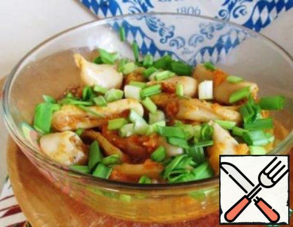 Squid in the glass jar Recipe