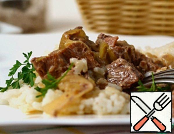 Beef in Onion Sauce Recipe