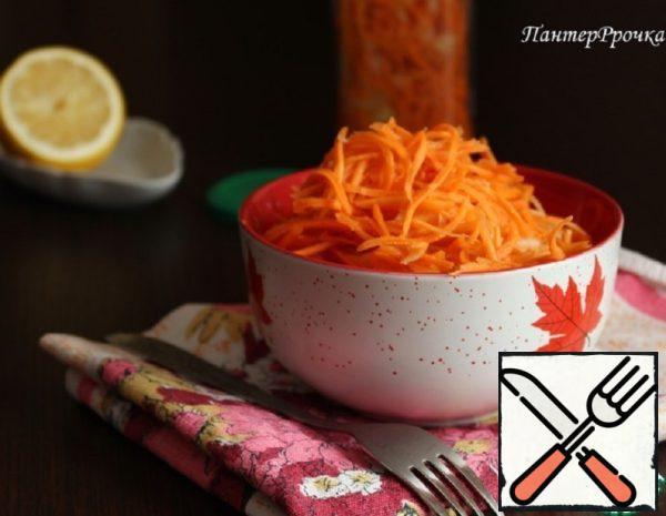 Useful Carrots in Korean Recipe