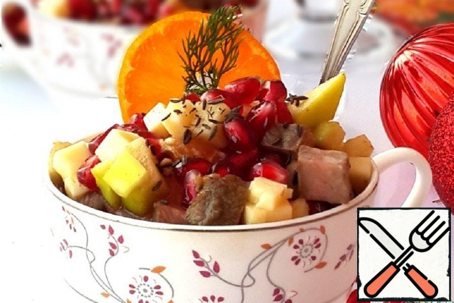 Beef Salad with Pomegranate Recipe