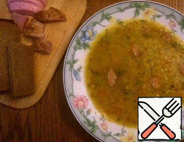 Pea and Corn Soup Recipe
