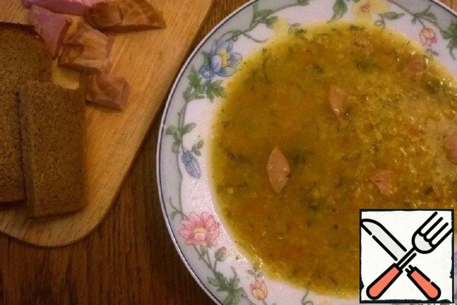 Pea and Corn Soup Recipe