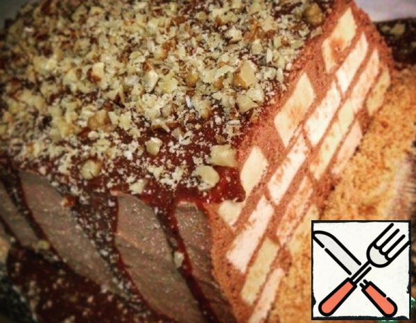 Marshmallow-Chocolate Cake without Baking Recipe