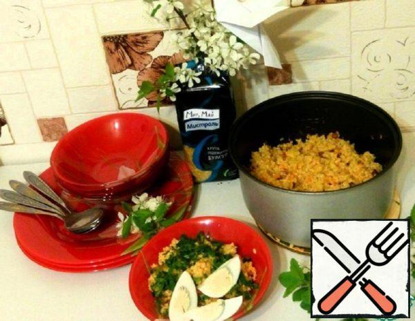 Kulesh of Bulgur in the Slow Cooker Recipe