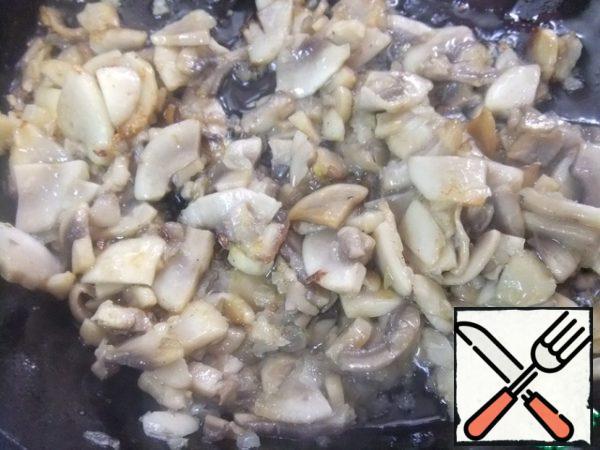 Fry in vegetable oil until tender.