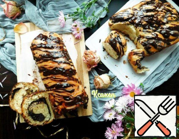 Roll with Halva and Poppy Seeds Recipe