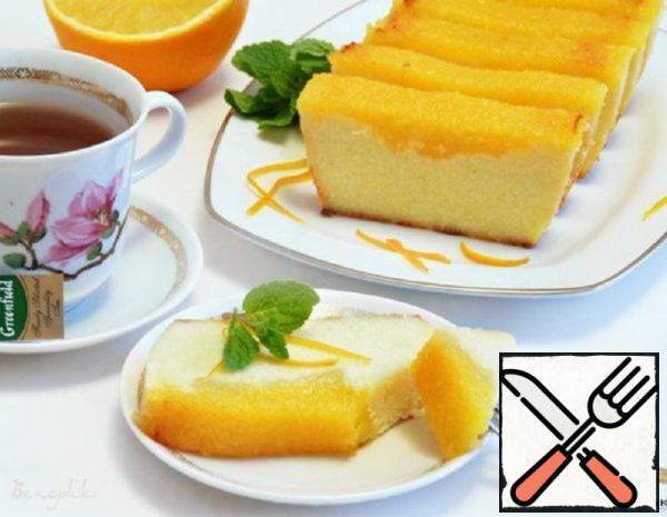 Cottage Cheese and Orange Casserole Recipe