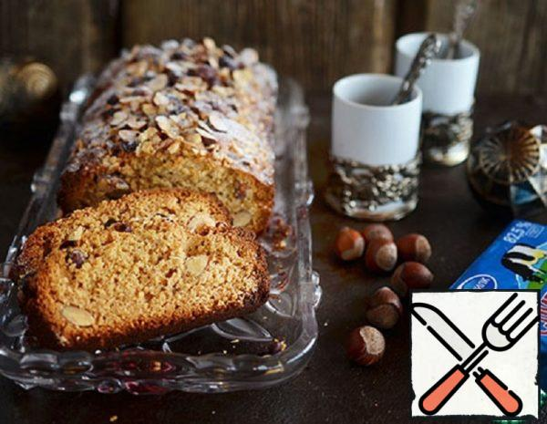 Walnut Cake with Halva Recipe