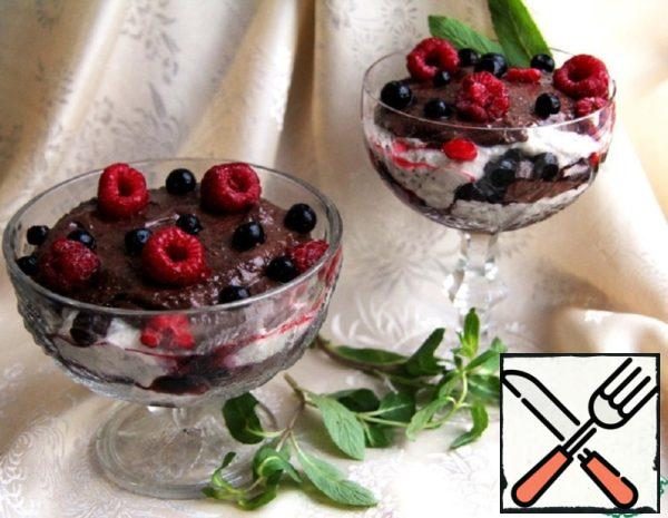 Chocolate Parfait of Buckwheat Recipe
