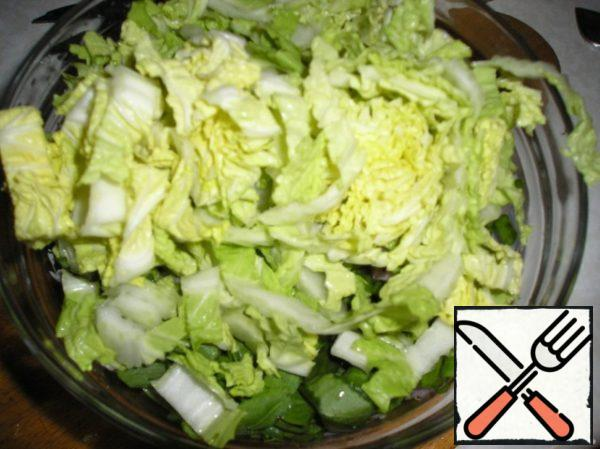Some cabbage.