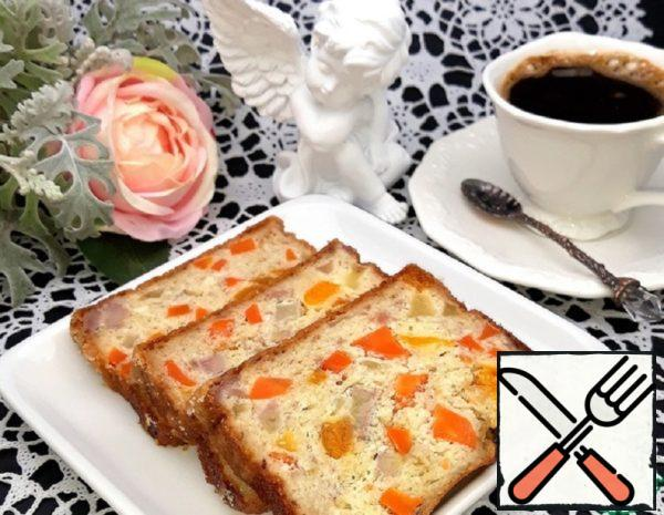 Cottage Cheese and Fruit Casserole with Carrots Recipe