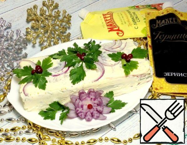 Appetizer of Herring with Vegetables Recipe