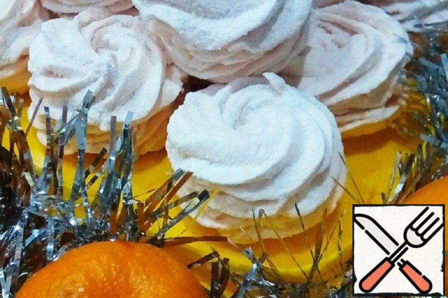 Spicy Tangerine Marshmallow Recipe