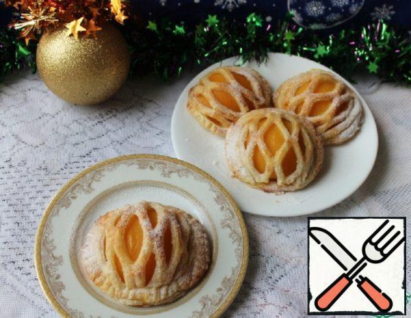 Mini Cakes with Peaches Recipe