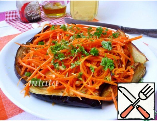 Appetizer of Eggplant with Carrots Recipe