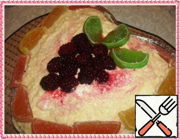 "Marshmallow Cake ""Cloud of Taste"" Recipe"
