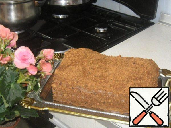 "Honey Cake ""Halva"" Recipe"