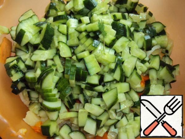 Add cucumber.