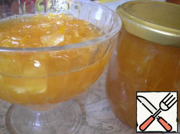 Zucchini Marmalade with Ginger Recipe