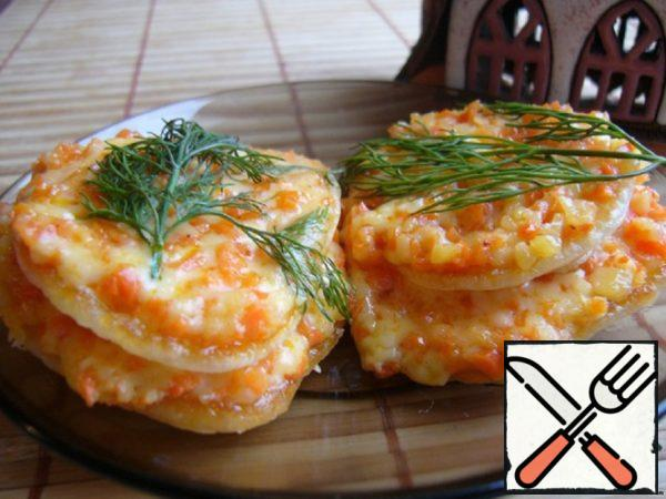 Snack with Korean Carrot and Cheese Recipe