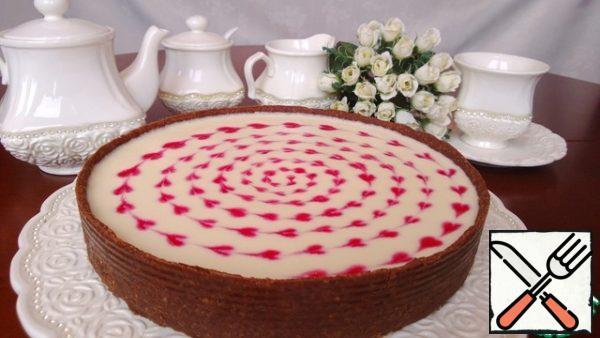 Put the Cheesecake in the fridge. Better for tonight. Enjoy wirh tea.