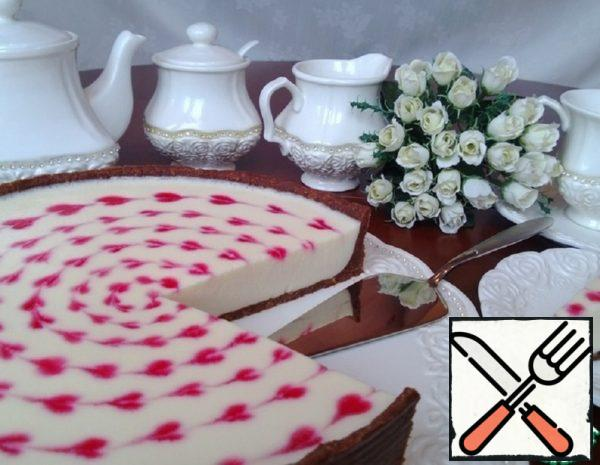 Cheesecake without Baking with Marshmallow Cream Recipe