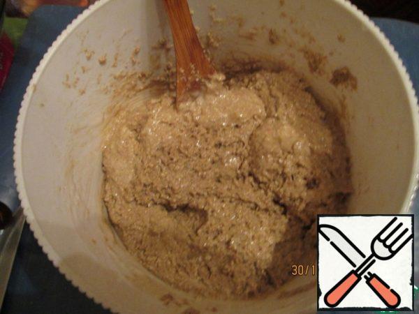 Add flour.