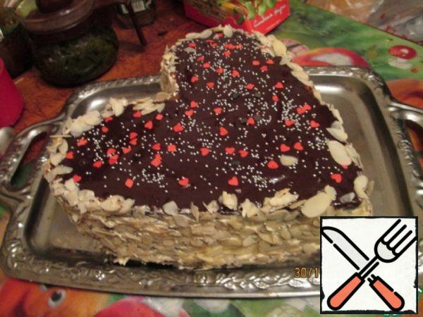 "Cake from Halva ""Emerald Heart"" Recipe"