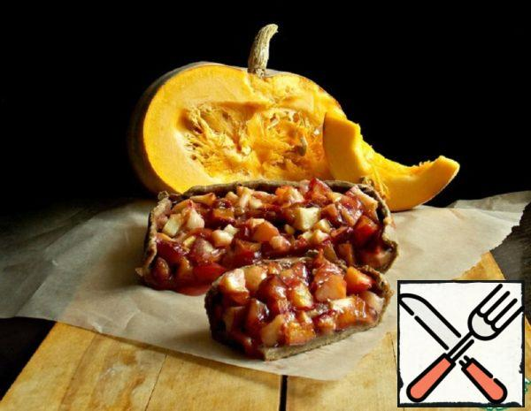 Fruit Galette on Pumpkin Dough Recipe