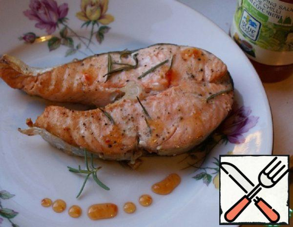 Grilled Salmon with Rosemary Recipe