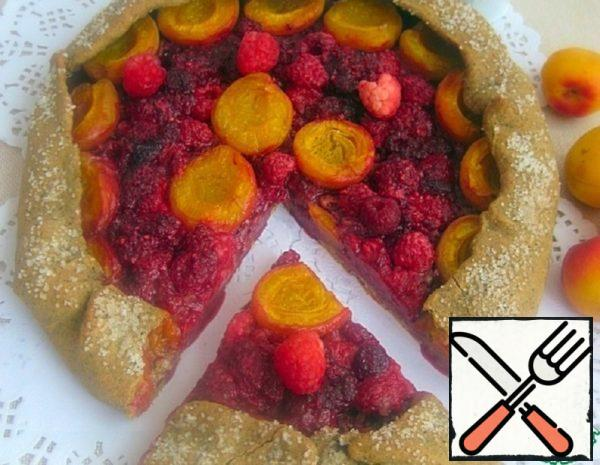 Coffee Galette with Fruit Recipe