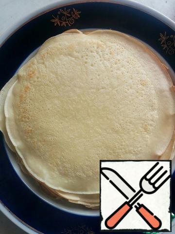 You get 12 pancakes.