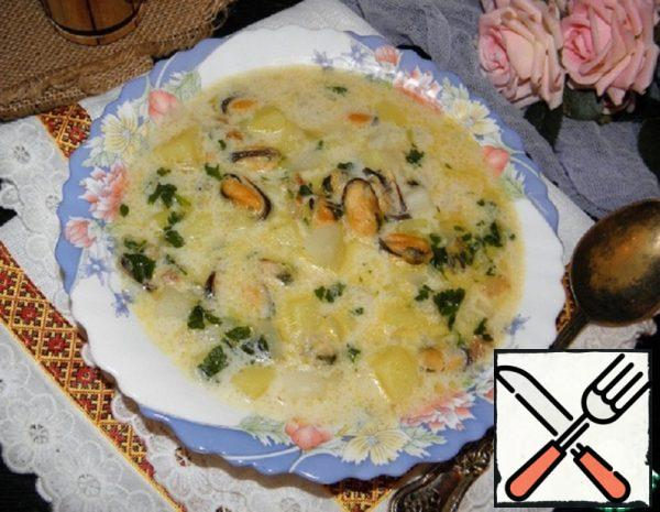 Soup with Mussels Recipe