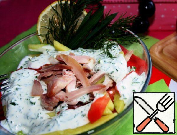 Chicken and Mango Salad Recipe