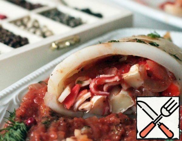 Neapolitan grilled Squid Recipe