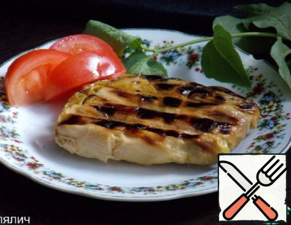 Grilled Fish in Leek Recipe