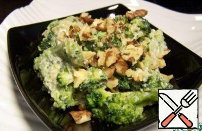 Broccoli Salad with Cheese Sauce Recipe