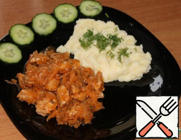 Bigus with Pork and Mashed Potatoes Recipe