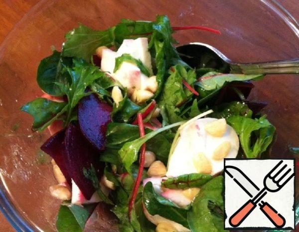 Salad with Beet  Recipe