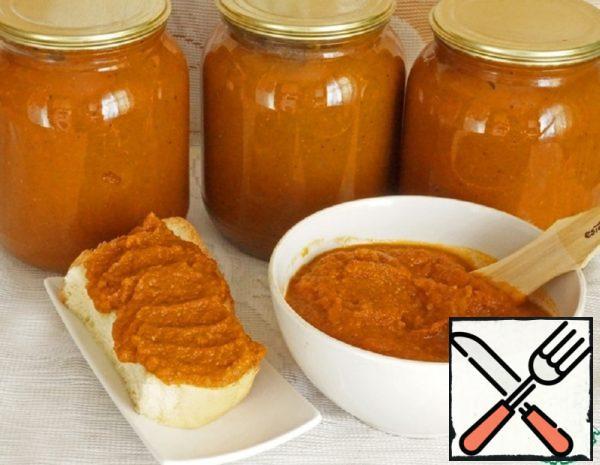 Vegetable Caviar with Pumpkin Recipe