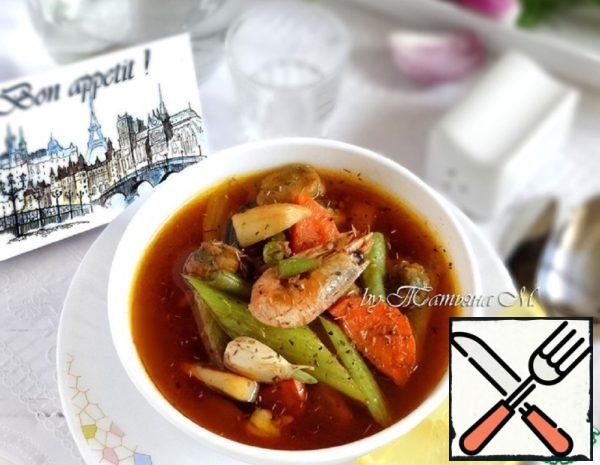 Soup with Seafood Recipe