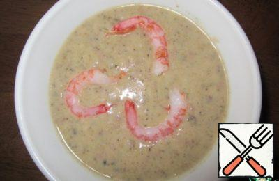 Seafood Soup-Puree Recipe