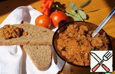 "Vegetable Caviar ""Autumn"" Recipe"