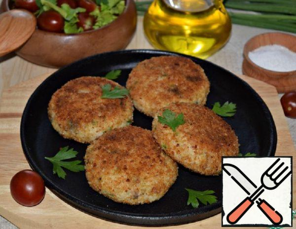 Mackerel Cutlets with Mashed Potatoes Recipe