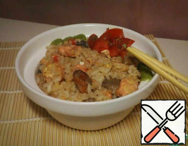 Rice with Seafood Recipe