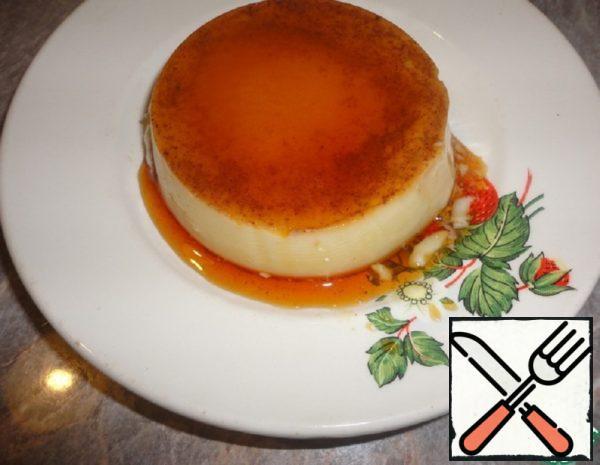 """Pudding """"Cream Caramel"""" Recipe"""