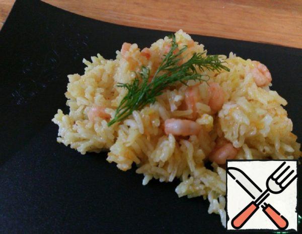 Pilaf with Shrimp Recipe
