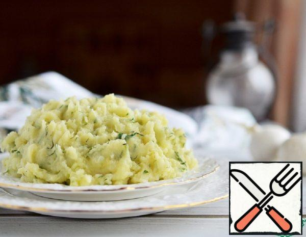 Mashed Potatoes with Baked Garlic Recipe
